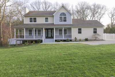 Baiting Hollow Single Family Home For Sale: 56 N Woods Rd