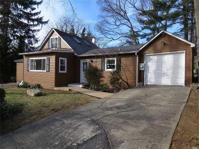Ronkonkoma Single Family Home For Sale: 21 W 6 St