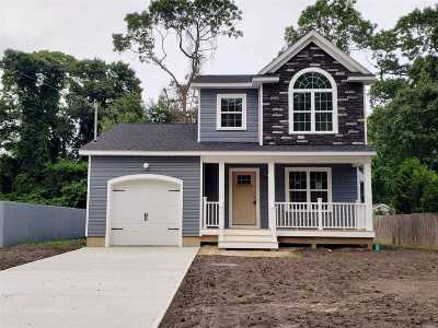 Mastic Single Family Home For Sale: 155 Main Ave