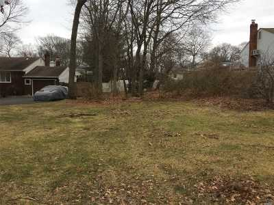 Hauppauge Residential Lots & Land For Sale: Plaisted Ave