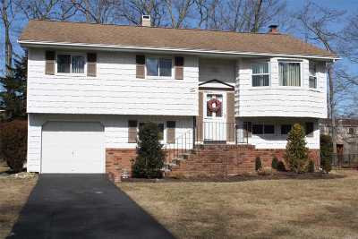 Hauppauge Single Family Home For Sale: 10 Reed St