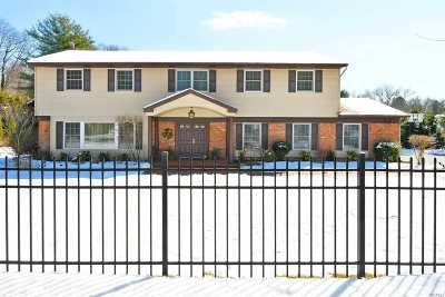 Dix Hills Single Family Home For Sale: 452 Wolf Hill Rd