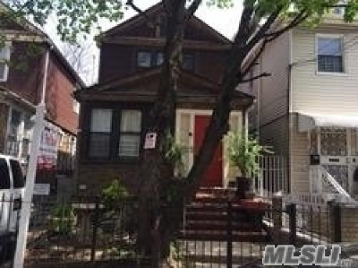 Woodside Single Family Home For Sale: 40-21 73rd St