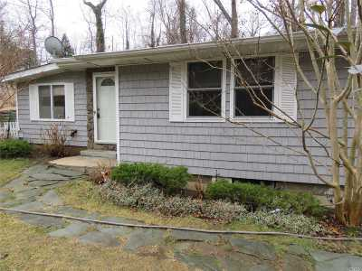 Miller Place Single Family Home For Sale: 116 Woodhull Landing Rd