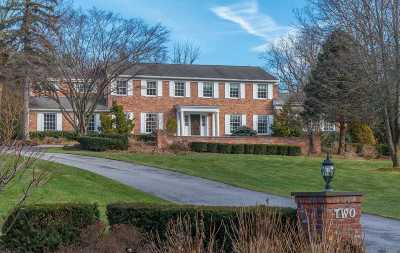 Brookville Single Family Home For Sale: 2 Horse Hill Rd