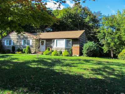 E. Setauket Single Family Home For Sale: 16 Somerset Ln