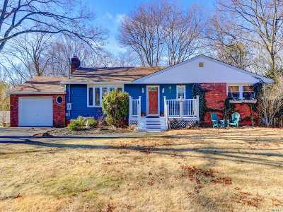 Miller Place Single Family Home For Sale: 472 Miller Place Rd
