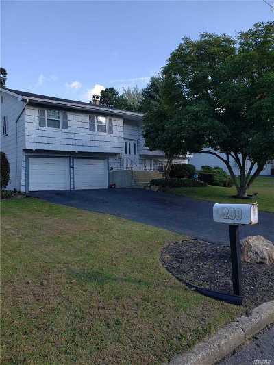 Ronkonkoma Single Family Home For Sale: 299 Avenue B
