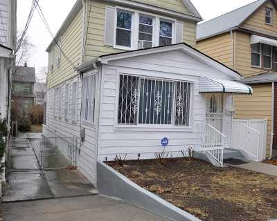Jamaica NY Single Family Home For Sale: $519,000
