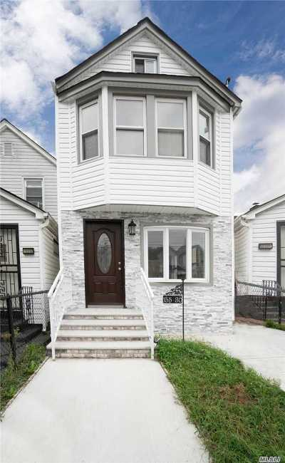 Jamaica NY Single Family Home For Sale: $539,000