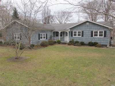 Wading River Single Family Home For Sale: 180 Sunset Blvd