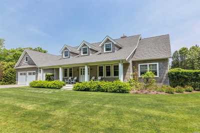 East Hampton Single Family Home For Sale: 31 Roberts Ln