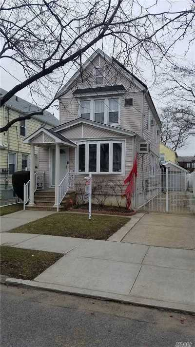 Queens Village Single Family Home For Sale: 89-67 214th St