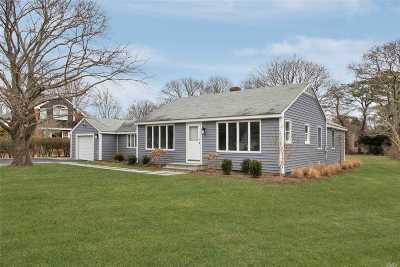 Hampton Bays Single Family Home For Sale: 9 Gravel Hill Rd