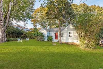 East Hampton Single Family Home For Sale: 24 Miller Ter