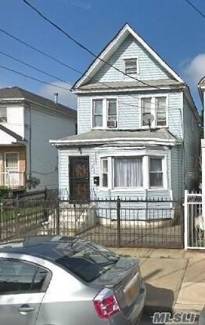 Jamaica Single Family Home For Sale: 106-41 Union Hall St