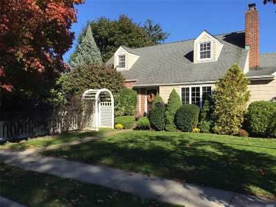 Rockville Centre Single Family Home For Sale: 5 Greenway St