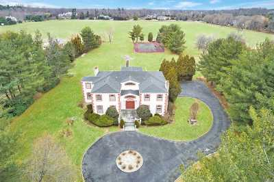 Old Westbury Single Family Home For Sale: 11 Quail Run