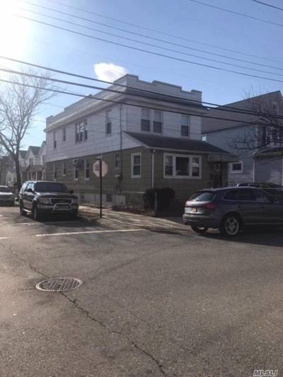 Ozone Park Multi Family Home For Sale: 86-20 107th Ave