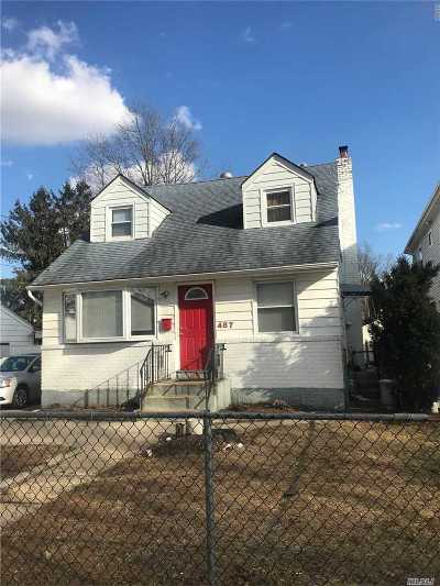 Uniondale Single Family Home For Sale: 487 Hawthorne Ave