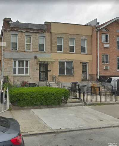 Brooklyn Multi Family Home For Sale: 2110 Strauss St