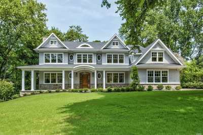 Manhasset Single Family Home For Sale: 4 Luquer Rd