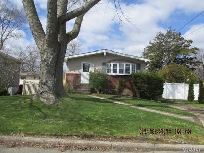 Deer Park NY Single Family Home For Sale: $329,000