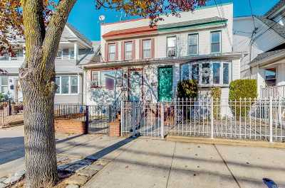 Ozone Park Multi Family Home For Sale: 90-09 107th Ave
