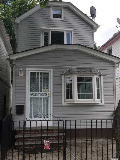 Jamaica Single Family Home For Sale: 114-34 141st St