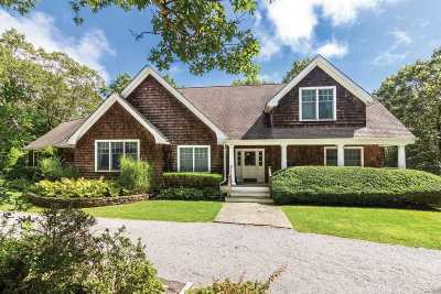 East Hampton Single Family Home For Sale: 15 Chatfields Ridge Rd