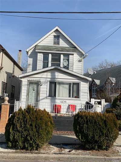 Jamaica Single Family Home For Sale: 117-43 168 St