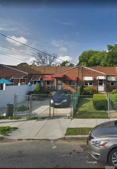 Jamaica Single Family Home For Sale: 107-35 Fern Pl