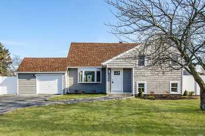 Bay Shore NY Single Family Home For Sale: $398,000