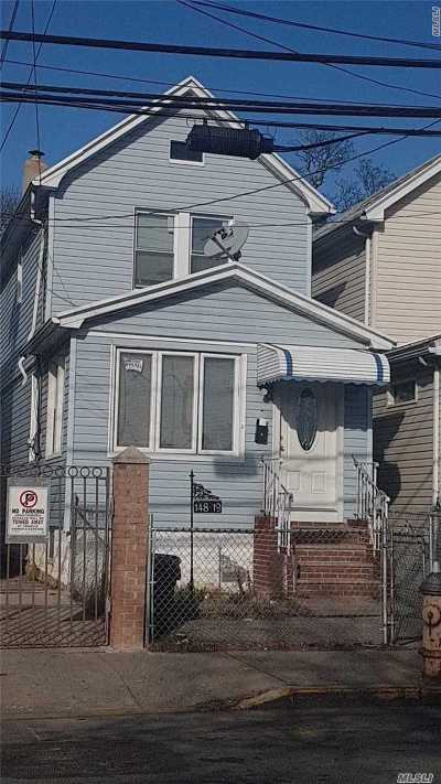 Jamaica Single Family Home For Sale: 148-19 Linden Blvd