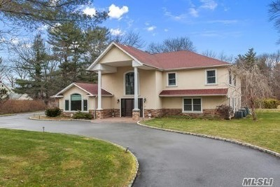Syosset Single Family Home For Sale: 195 Cold Spring Rd