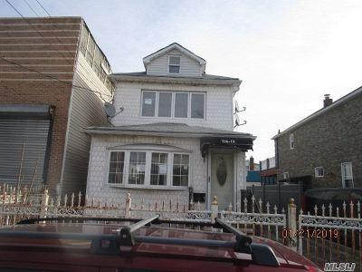 Jamaica Single Family Home For Sale: 126-13 Inwood St