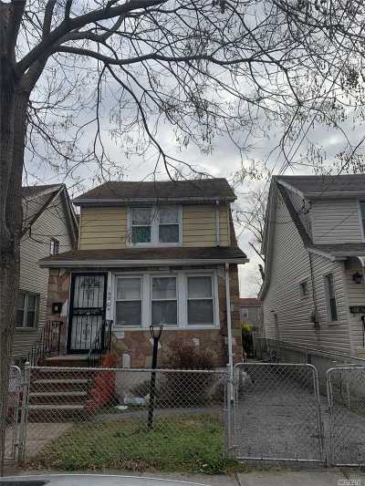 Jamaica Single Family Home For Sale: 168-04 110th Ave