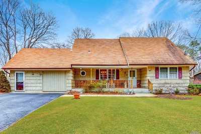 Nesconset Single Family Home For Sale: 197 Gibbs Pond Rd