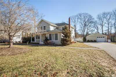 Remsenburg Single Family Home For Sale: 16 Matthews Dr