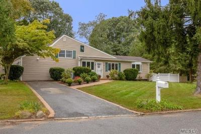 Smithtown Single Family Home For Sale: 6 Fawn Pl