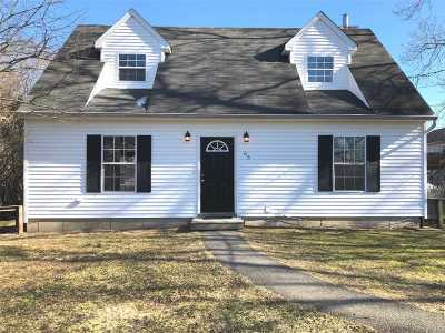 Mastic Beach NY Single Family Home For Sale: $229,900
