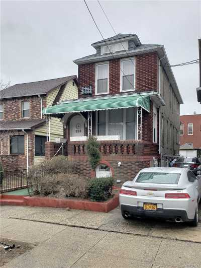 Brooklyn Single Family Home For Sale: 894 Linden Blvd