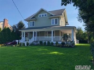Rockville Centre Single Family Home For Sale: 171 Windsor Ave