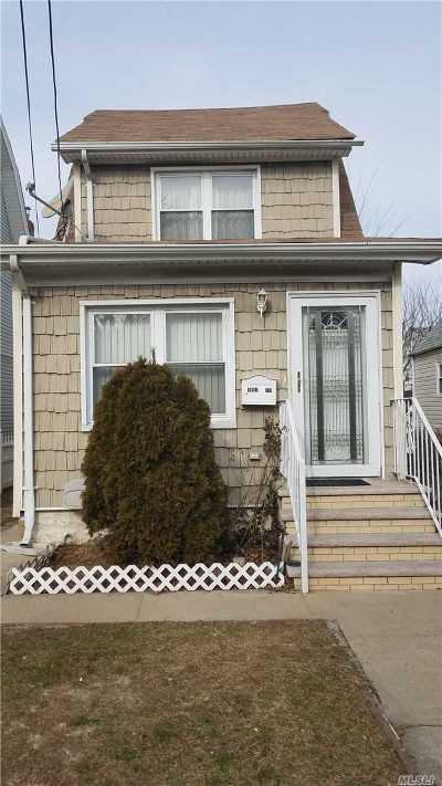 Jamaica Single Family Home For Sale: 191-19 120th Ave