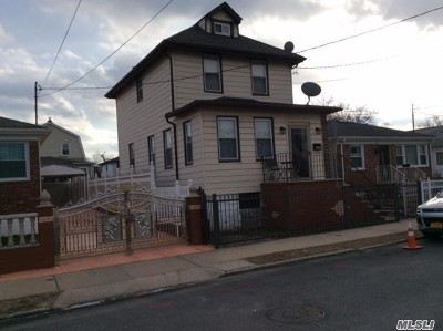 Jamaica Single Family Home For Sale: 174-24 126th Ave