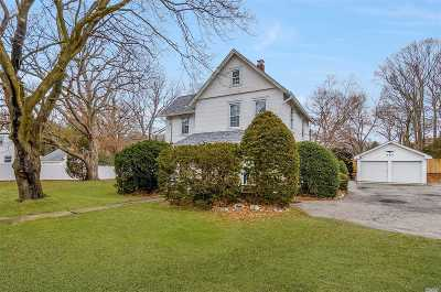 Smithtown Single Family Home For Sale: 637 Vets Mem Hwy