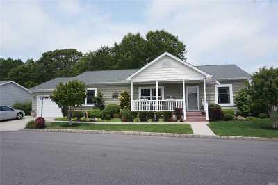Calverton Single Family Home For Sale: 1407-282 Middle Rd