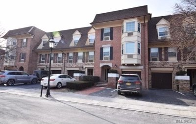Bayside Condo/Townhouse For Sale: 14-06 Michael Pl #3rd.Fl