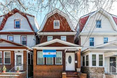 Woodhaven Single Family Home For Sale: 86-27 90th St