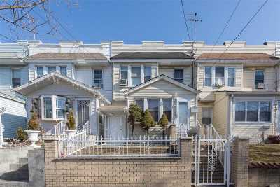 Kew Gardens, Richmond Hill Single Family Home For Sale: 107-17 121 St